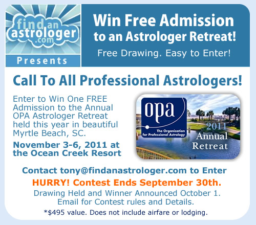OPA Astrology Retreat Contest 2011