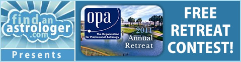 Find An Astrologer OPA Retreat Contest